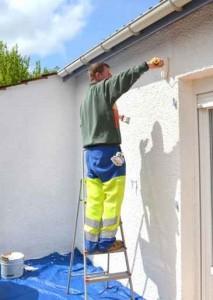 Ravalement de façade à Sospel